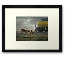 The Quirky Out West Framed Print