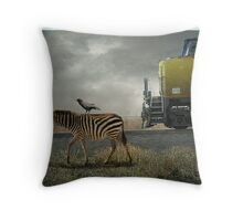 The Quirky Out West Throw Pillow