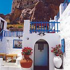 """Whitewashed Andros Home by Christine """"Xine"""" Segalas"""