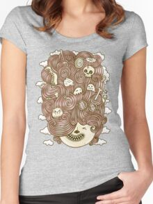 Crazy Hair Day Women's Fitted Scoop T-Shirt