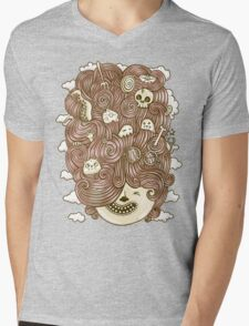 Crazy Hair Day Mens V-Neck T-Shirt