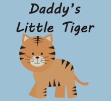 Daddy's Little Tiger Kids Clothes