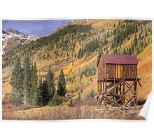 Abandoned Gold Mine (Silverton, Colorado) Poster