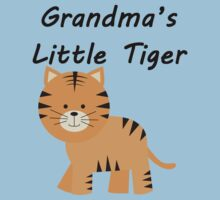 Grandma's Little Tiger Kids Clothes