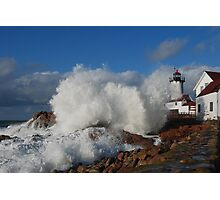 Day after the Storm - Eastern Point Light Photographic Print