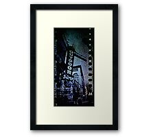 Outdoor Store Framed Print