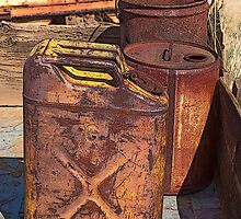 Rusted Containers from Yesteryear (Keyes Ranch, Joshua Tree NP, California) by Brendon Perkins