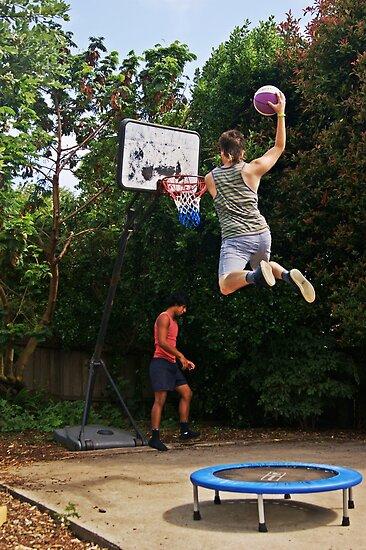 Slam-dunk by Damon Colbeck