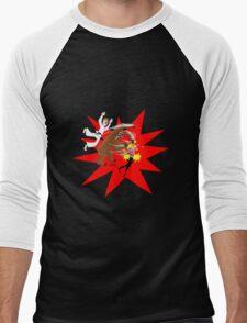Man vs Bear vs Woman Men's Baseball ¾ T-Shirt