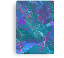 Leaf tips Canvas Print