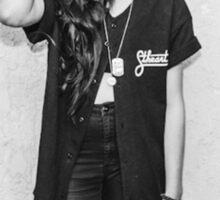 Lynn Gunn Black & White Sticker