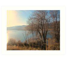 Lake Entiat  Art Print