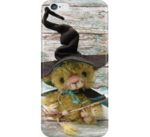 Merlin Mouse, Halloween Bear - Handmade bears from Teddy Bear Orphans iPhone Case/Skin