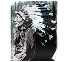 Native American Chief 2 Poster