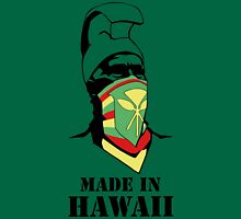 Made In Hawaii_BLACK outline Unisex T-Shirt