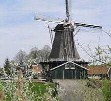 Dutch Windmill by ZanHanhof