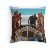 2011 Lorne surf carnival (16) Throw Pillow