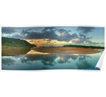 New Day Dawning - Narrabeen Lakes - The HDR Experience Poster