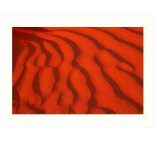 A Simpson Desert Red Sunset Art Print