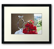 Girls best friend Framed Print