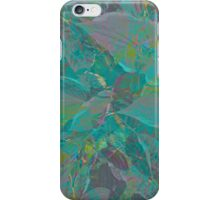 Layered palm  iPhone Case/Skin