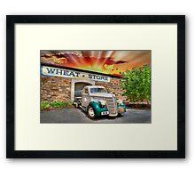 HDR Classic Sunset Framed Print