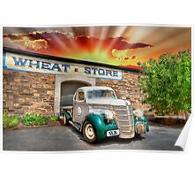 HDR Classic Sunset Poster