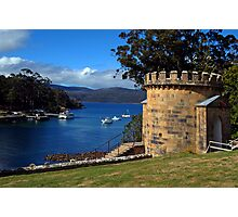 The Guard Tower (1842). Historic Port Arthur, Tasmania, Australia. Photographic Print