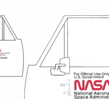 Nasa Graphics Standards Manual 1976 0046 Identification Configuration with the Logotype Sticker