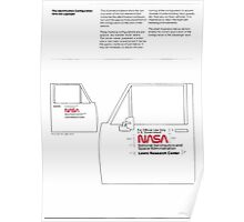 Nasa Graphics Standards Manual 1976 0046 Identification Configuration with the Logotype Poster