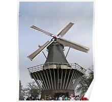 Dutch Windmill Poster