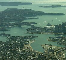 Sydney from the Air 1 by orkology