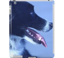 Portrait of a Border Collie iPad Case/Skin