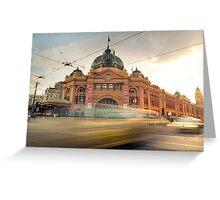 Flinders Street Station Greeting Card