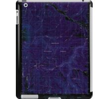 USGS Topo Map Oregon Bates 278951 1988 24000 Inverted iPad Case/Skin