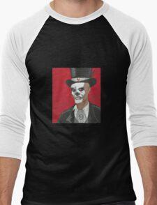 Baron Samedi Voodo Portrait Men's Baseball ¾ T-Shirt