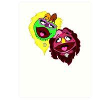 Best Muppets Forever Art Print