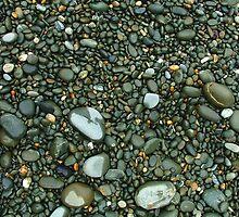 Gravel and pebbles 1 - Oamaru by orkology