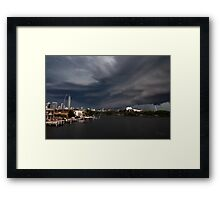 Think it looks like a Storm. Framed Print