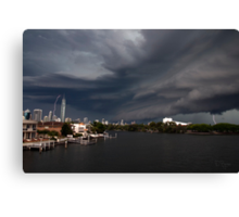 Think it looks like a Storm. Canvas Print