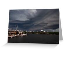 Think it looks like a Storm. Greeting Card