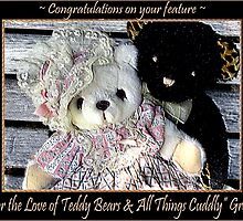 For the Love of Teddy Bears & all things Cuddly banner challenge by Donna Keevers Driver