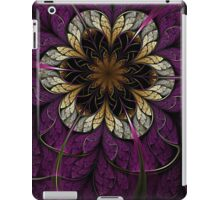 Dark Fractal Flower iPad Case/Skin