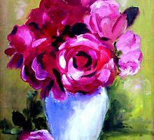 Red Roses by AJ  Devlin