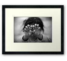 Angry Framed Print