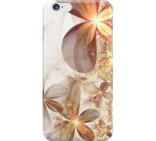 Soft Fractal Flowers iPhone Case/Skin
