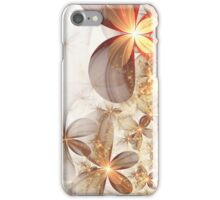 Soft Fractal Flowers iPhone Case/Skin