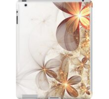 Soft Fractal Flowers iPad Case/Skin