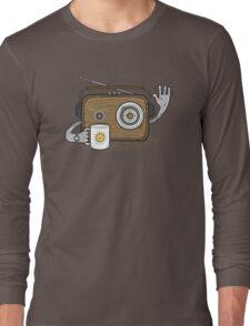 Radio Waves Good Morning Long Sleeve T-Shirt