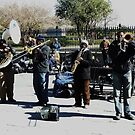 Jazz in Jackson Square by eyeland